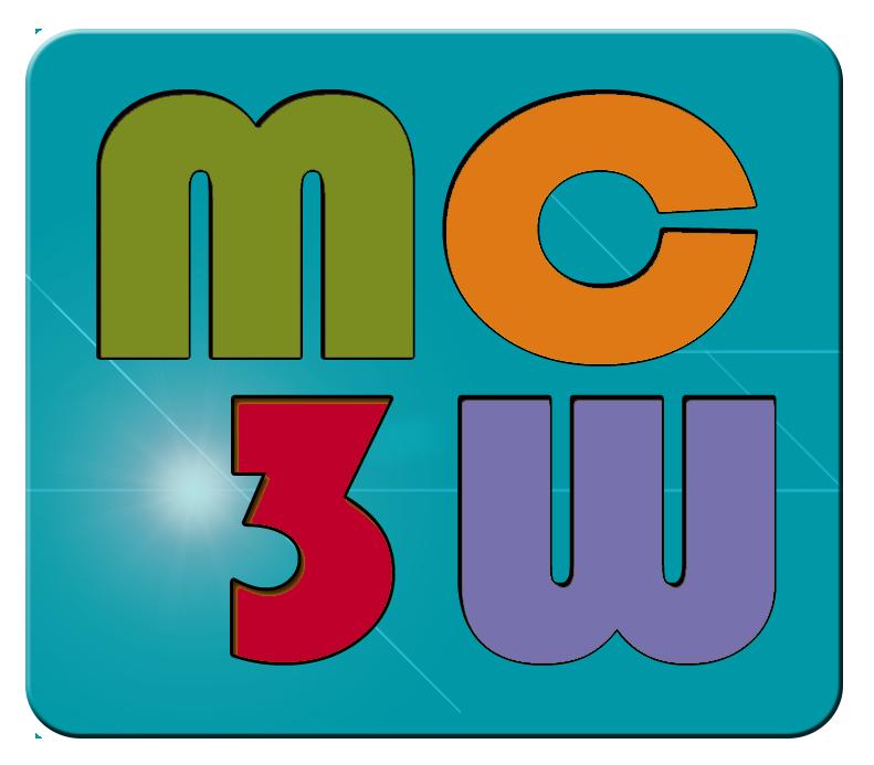 logo mc3w.fr creéation de site web, graphiste, webmaster à Bordeaux