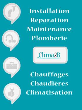 Clima2B chauffage et climatisation en haute corse, benoit CASTANT, plombier, chauffagiste