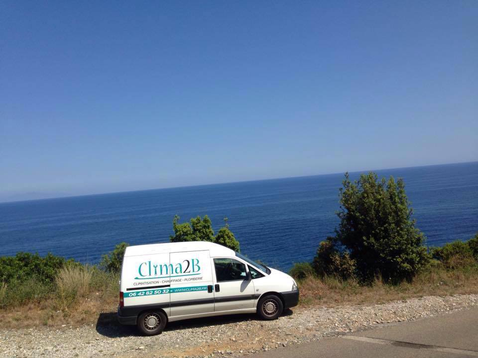 climatisation corse, camion clima2b